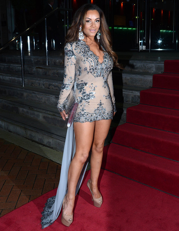 Chelsee Healey attends The Mirror Ball 2014 held at Lowry Hotel, 7 March 2014