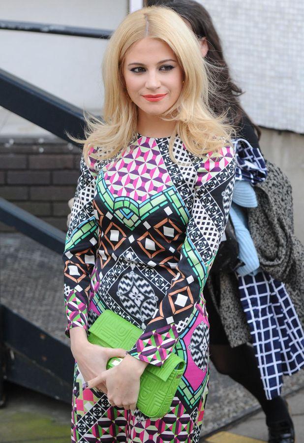Pixie Lott leaves the ITV Studios in London, England - 13 March 2014