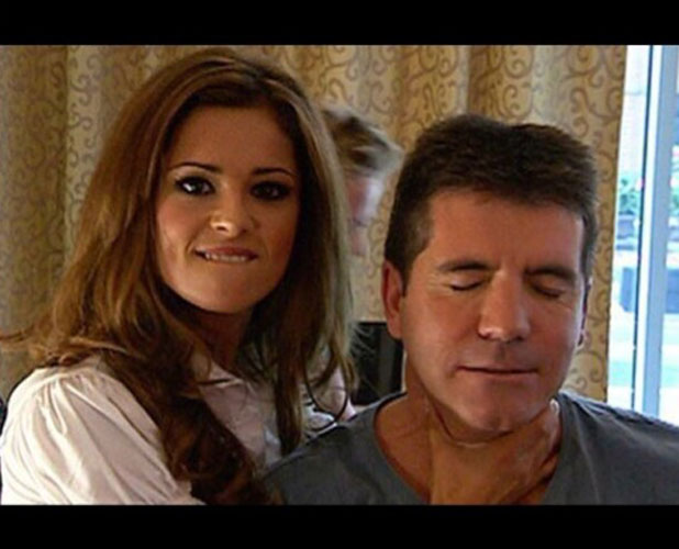 Cheryl Cole confirms X Factor return with photo of herself and Simon Cowell, Instagram, 10 March 2014