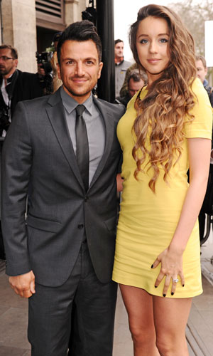 Peter Andre, Emily MacDonagh at The 2014 Tric Awards held at The Grosvenor House - Arrivals, 11 March 2014