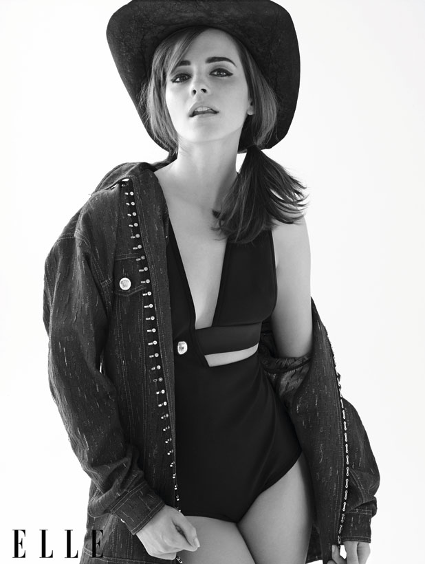 Emma Watson inside images from ELLE US issue for April 2014