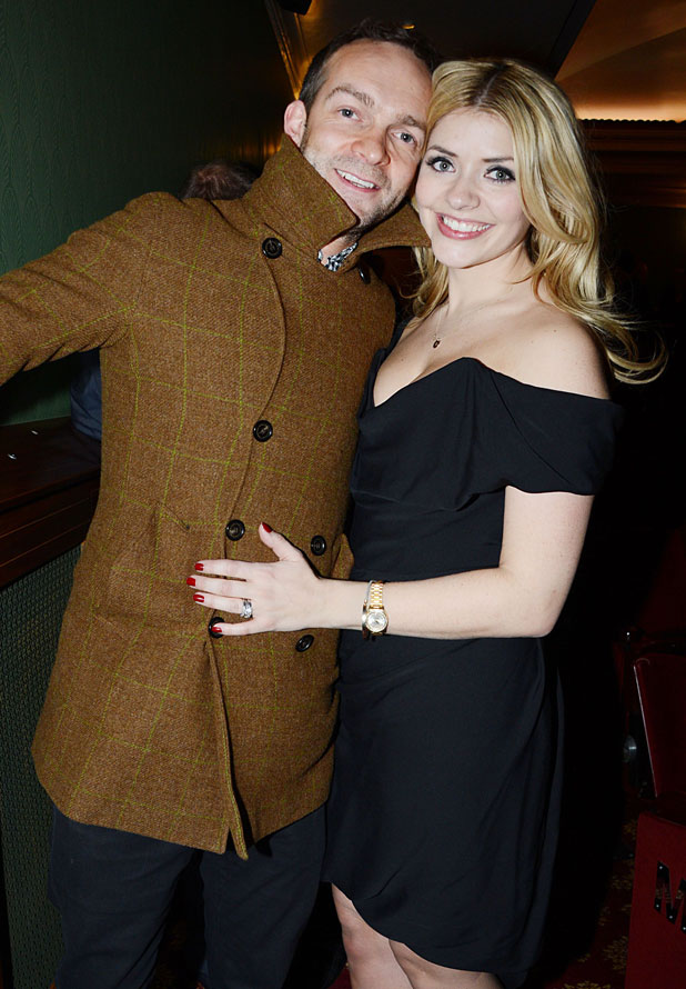 Dan Baldwin and Holly Willoughby, 'Viva Forever!' musical press night at The Piccadilly Theatre, London, Britain - 11 Dec 2012