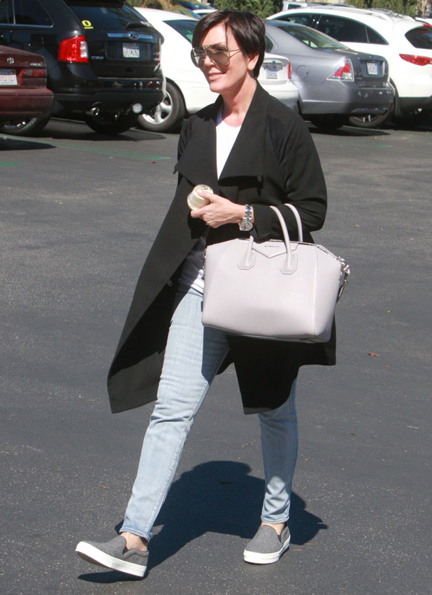 Kris Jenner out and about, Calabasas, California, America - 08 Mar 2014