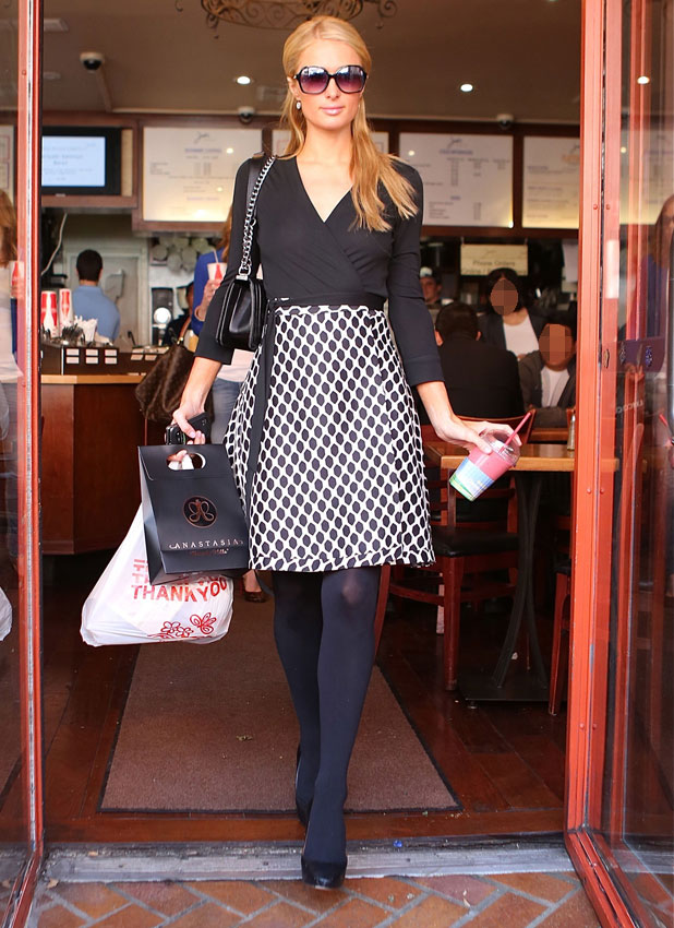 Paris Hilton shopping in Beverly Hills - 7th March 2014