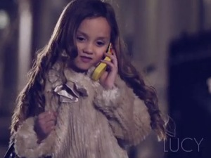 Made In Chelsea - Mini Chelsea - mini Lucy Watson. (20 March).