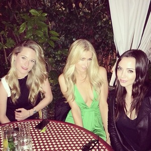 Paris Hilton celebrates her cousin's birthday at Château Marmont in Los Angeles - 17 March 2014