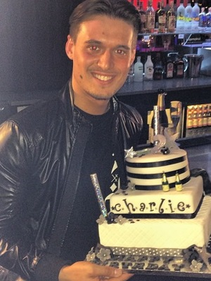 TOWIE's Charlie Sims celebrates his birthday - 16 Mar 2014