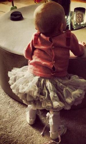 Georgina Dorsett shares new picture of her daughter Nevaeh - 17 March 2014