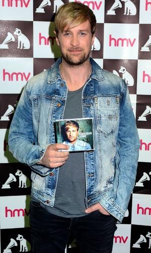 Former Westlife member Kian Egan launches his debut solo album 'Home' at HMV Dundrum, Dublin, Ireland. 03/16/2014