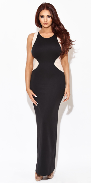 Amy Childs models her spring 2014 clothing collection - Penelope dress, £85