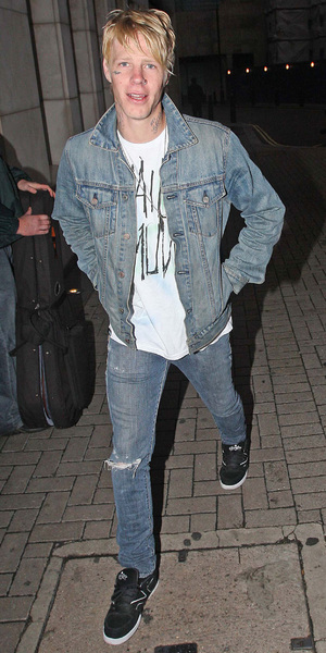 Braydon Szafranski arriving at the Met Bar London, England - 19.07.09