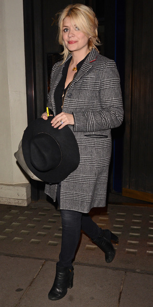 Holly Willoughby leaves Hakkasan restaurant, London - 22 Mar 2014