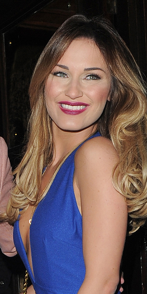 Samantha Faiers looks stunning in blue jumpsuit as she hosts a party at Cafe De Paris, 22 March