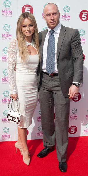 Ola Jordan and James Jordan attend Tesco Mum of the Year Awards 2014 held at the Savoy, 23 March 2014