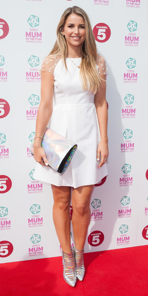 Vogue McFadden attends Tesco Mum of the Year Awards 2014 held at the Savoy, 23 March 2014