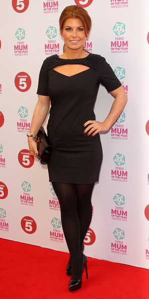 Coleen Rooney attends Tesco Mum of the Year Awards 2014 held at the Savoy, 23 March 2014