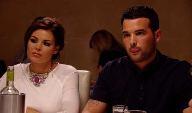 Jessica Wright and Ricky Rayment discuss their relationship in TOWIE - 19 March 2014