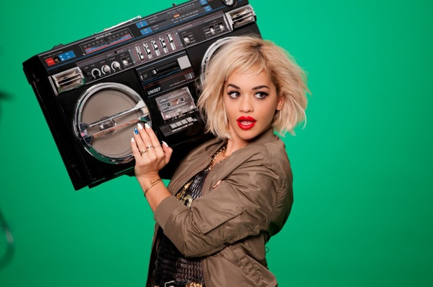 Rita Ora promotes her new make-up collection for Rimmel London - March 2014