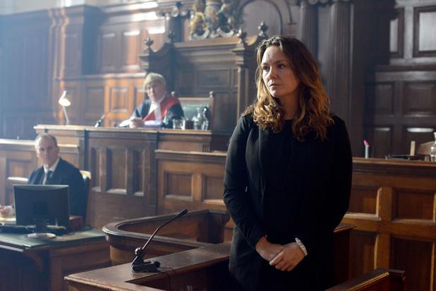 EastEnders, Janine in court, Thu 20 Mar