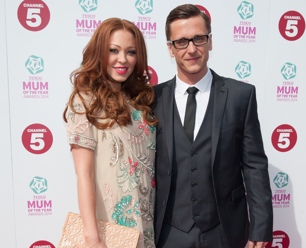 Ritchie Neville and Natasha Hamilton attend Tesco Mum of the Year Awards 2014 held at the Savoy, 23 March 2014