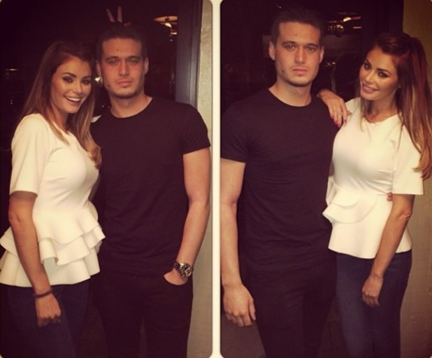 TOWIE's Charlie Sims celebrates birthday with sister Chloe (17 March).