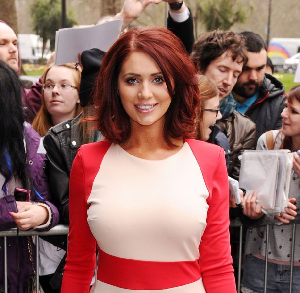 Amy Childs TRIC Awards, London, Britain - 11 Mar 2014