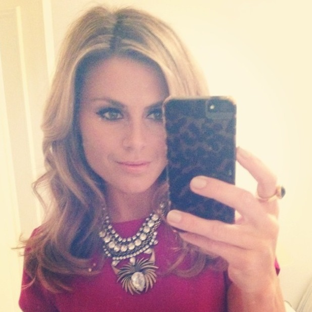 Zoe Hardman snaps an Instagram mirror selfie before an audition - 25 January 2014