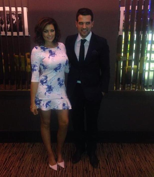 TOWIE's Jessica Wright and Ricky Rayment at the Thor: The Dark World screening (20 March).