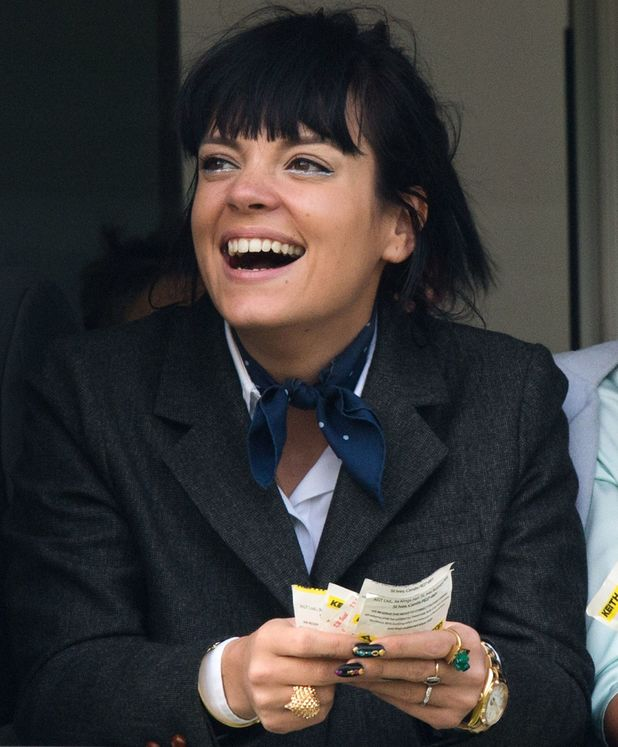 Lily Allen, Cheltenham Festival - Day 4 - Gold Cup Day, 14 March 2014