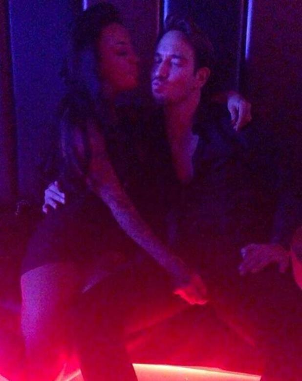 Sallie Axl posts photo of James Lock in a nightclub (19 March).