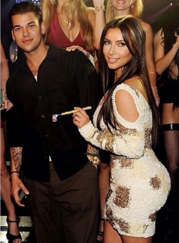 Kim Kardashian wishes brother Rob happy birthday, March 17