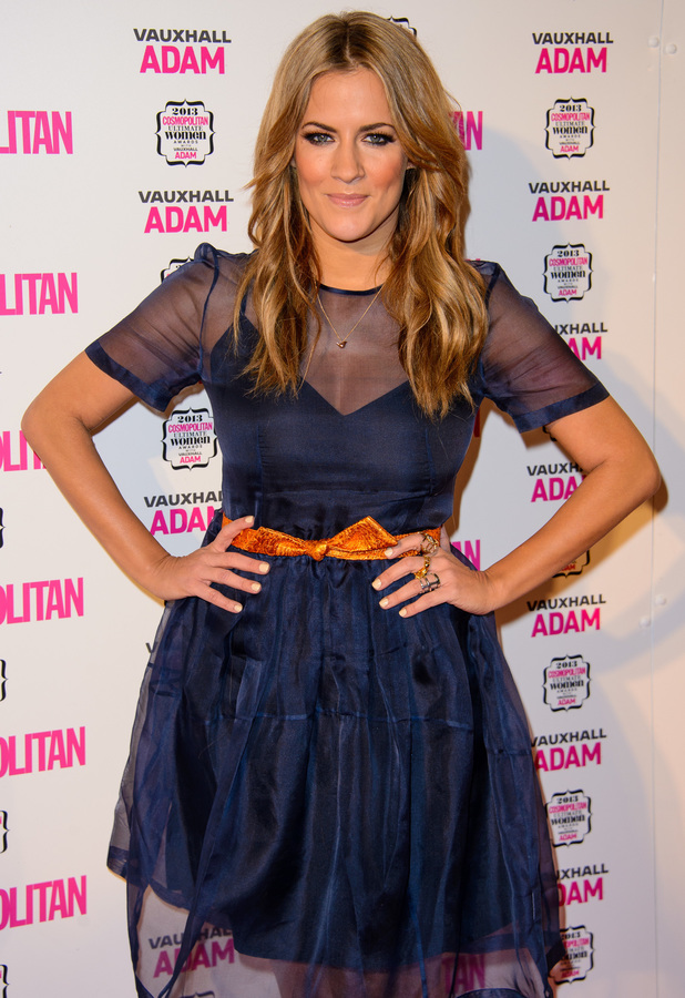 Caroline Flack at the Cosmopolitan Ultimate Women of the Year Awards in London - 5 December 2013