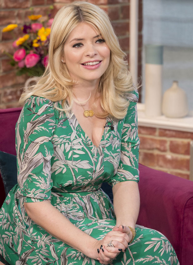 Holly Willoughby talks about her pregnancy, 'This Morning' TV Programme, London, Britain - 17 Mar 2014