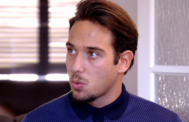 TOWIE episode aired 19 March 2014, still, James Lock