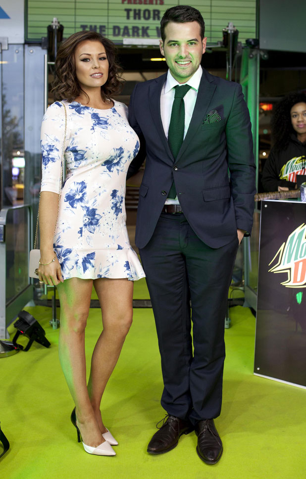 Jessica Wright and Ricky Rayment attend a viewing of Thor: The Dark World during the first Mountain Dew presents Green Screen event at the Odeon Cinema in Greenwich, London, 20 March 2014