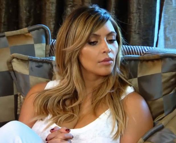 Kim Kardashian in a screengrab from Keeping Up With The Kardashians series nine trailer, 2013