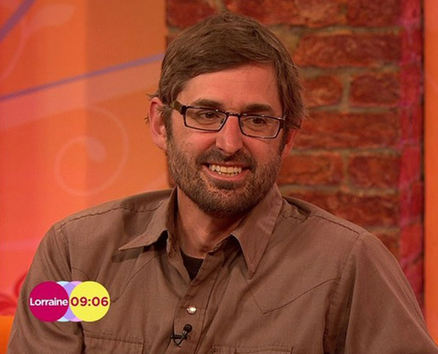 Louis Theroux appearing on ITV's Lorraine, London, 20 March 2014