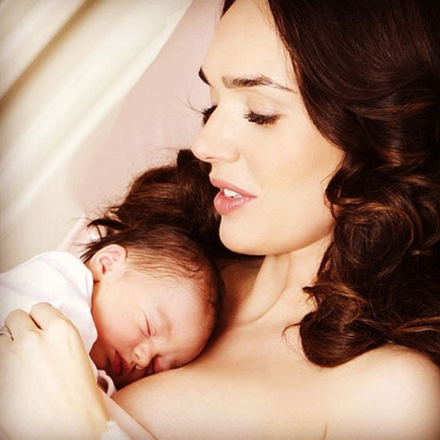 Tamara Ecclestone gives birth to baby daughter Sophia, 17 March 2014