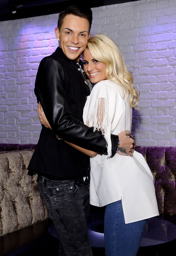 Bobby Norris and Danielle Armstrong, 'The Only Way Is Essex' TV show production stills, Britain - 19 Mar 2014