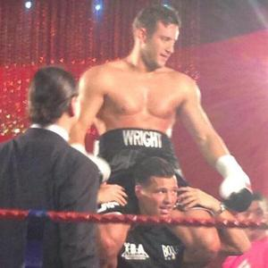 Mark Wright helps celebrate Elliott's boxing win in TOWIE - 25 March 2014