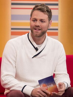 Brian McFadden on ITV's Daybreak - 27 March 2014