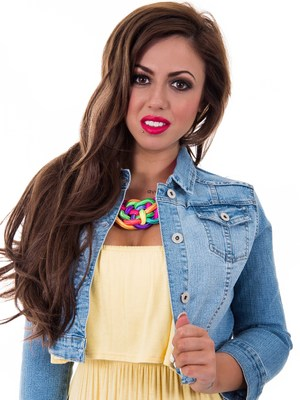 Holly Hagan unveils latest Spring 2014 collection for The Fashion Bible - 26 March 2014