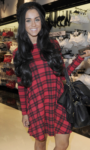 Vicky Pattison visits Ann Summers at the Trafford Centre in Manchester - 27 November 2013