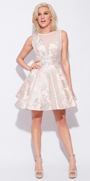 Ashley Roberts models the Angelic dress from the KEY Fashion spring/summer '14 collection - March 2014