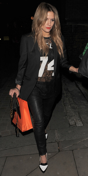 Caroline Flack attends Lou Teasdale: The Craft book launch party held at Ace Hotel Shoreditch - 25 March 2014