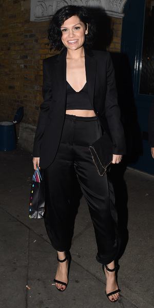 Jessie J at Oslo in Hackney, London, on her 26th birthday - 27 March 2014