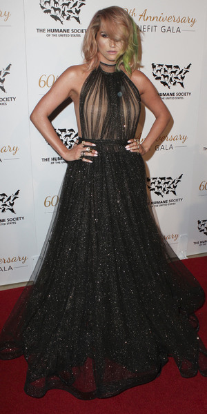 Kesha attends Humane Society of the United States Gala 2014, 29 March 2014