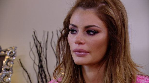 Chloe Sims cries when talking about Mario Falcone - 26 March 2014