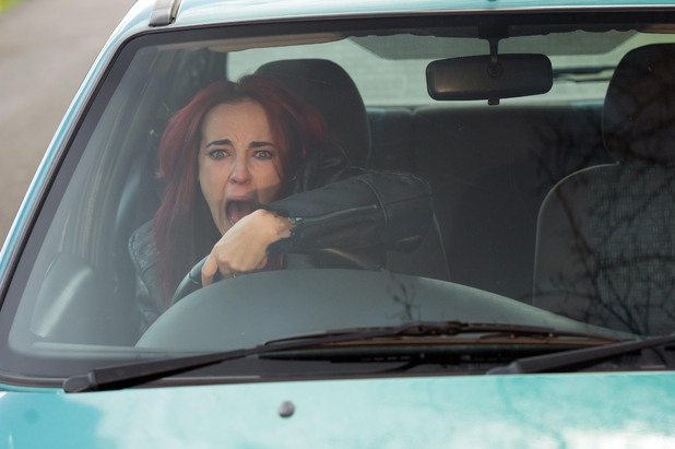 Hollyoaks, Sinead's car accident, Mon 31 Mar