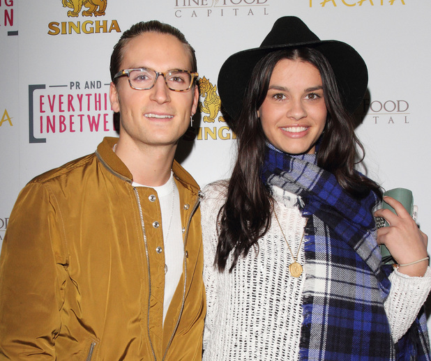 Made In Chelsea's Oliver Proudlock attends Pacata, Singha's official restaurant launch, 28 March 2014